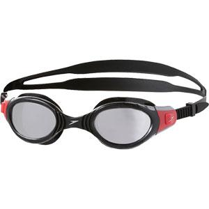 Speedo Futura Biofuse Mirror Swimming Goggles Black/Red