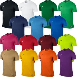 Nike Park VI Short Sleeve Junior Football Jersey