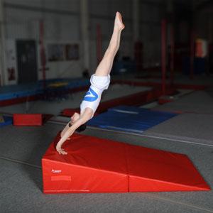 Beemat Folding Gymnastic Incline Wedge