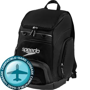 Speedo Teamster Backpack 35 Litre Black/Black