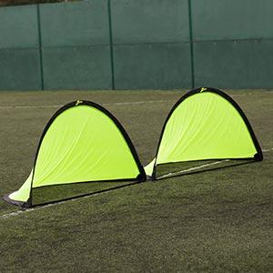 Ziland Pro Pop Up Football Goal 2 Pack