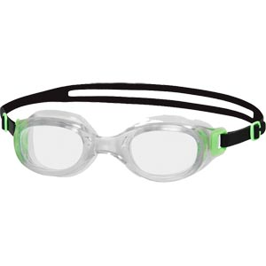 Speedo Futura Classic Swimming Goggles Green/Clear