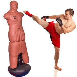 Apollo Sparring Partner Freestanding Punch Bag