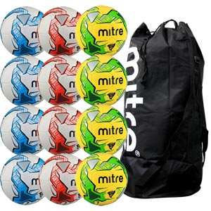 Mitre Impel Training Football 12 Pack Assorted