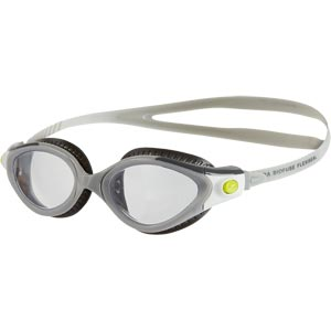 Speedo Futura Biofuse Flexiseal Female Swimming Goggles Charcoal/Grey/Clear