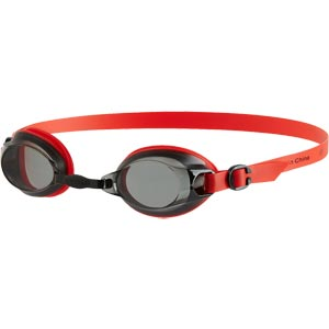 Speedo Jet Swimming Goggle Lava Red/Smoke