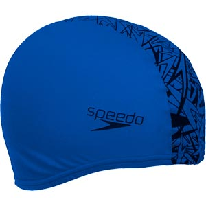 Speedo Boom Endurance Plus Swimming Cap Neon Blue/Black