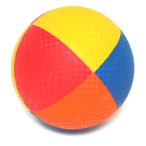 First Play Multi Colour Playground Ball