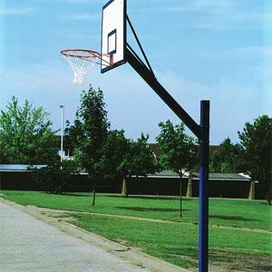 Harrod UK Adjustable Cantilever Basketball Goals Set