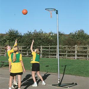 Harrod UK Wheelaway Netball Posts