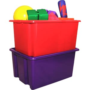 First Play Jumbo Storage Container